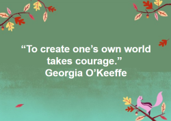 Painter Georgia O'Keeffe, https://www.okeeffemuseum.org/about-georgia-okeeffe/