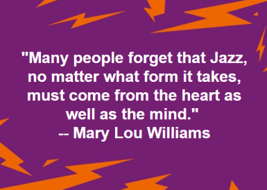 Jazz genius and prodigy, Mary Lou Williams: https://www.biography.com/people/mary-lou-williams-9532632
